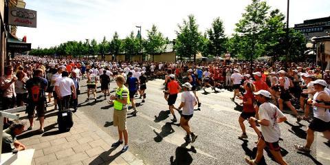 Gente corriendo en Estocolmo