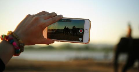 Grabar vídeo con el móvil