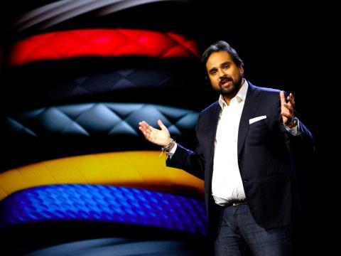 Hosain Rahman, CEO y co-fundador de Jawbone