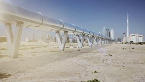 Hyperloop en Dubai