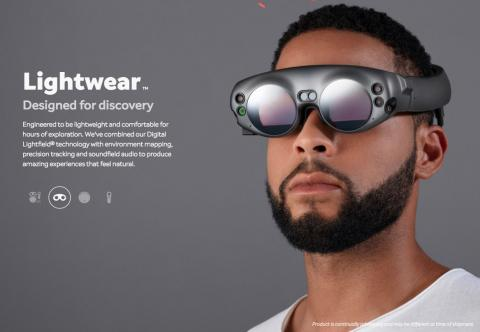 Representación de Magic Leap