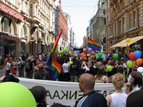 Marchas del Orgullo Finlandia