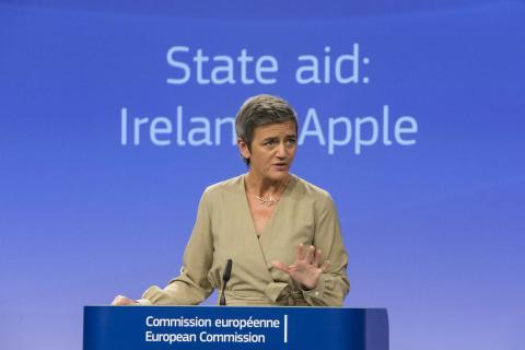Margrethe Vestager, comisaria de Competencia de la Unión Europea