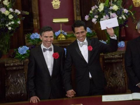 Matrimonio homosexual Inglaterra