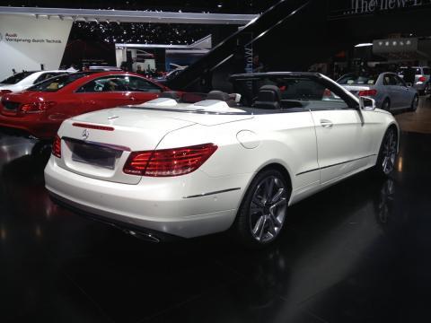 Mercedes Clase E Cabriolet.