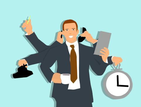Multitarea y eficiencia en el trabajo
