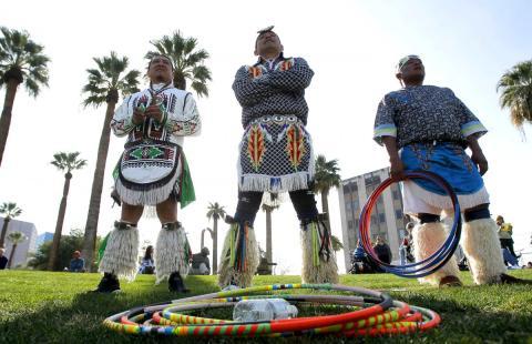 Nativos Hopi y Navajo