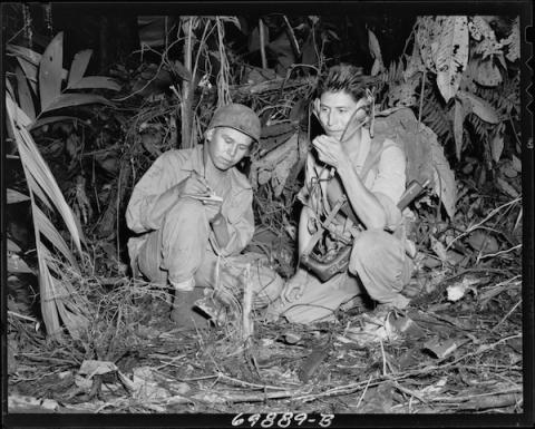 Nativos navajo en la Segunda Guerra Mundial