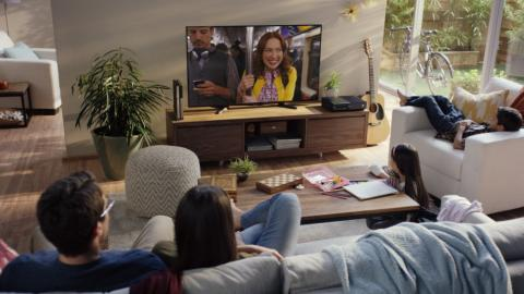 Netflix en el salón de casa