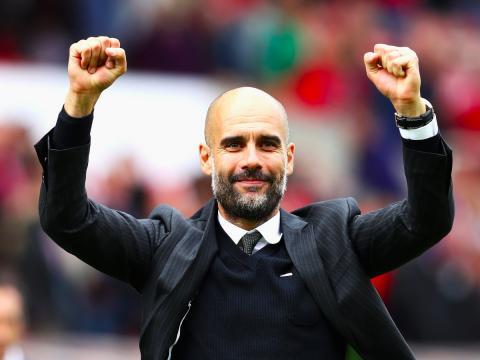 Pep Guardiola, entrenador de fútbol del Manchester City