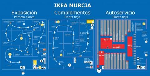Plano Ikea Murcia