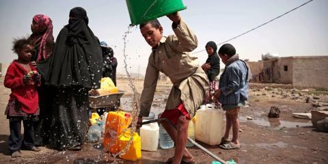 Pobreza y crisis humanitaria en Yemen