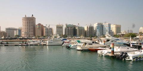 Puerto deportivo de Manama, Bahrain