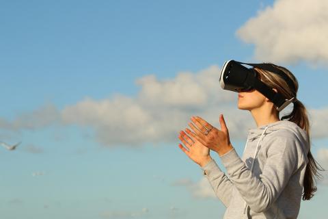 Realidad virtual en el exterior