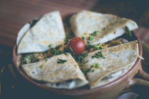Quesadillas, un plato rico y sencillo.