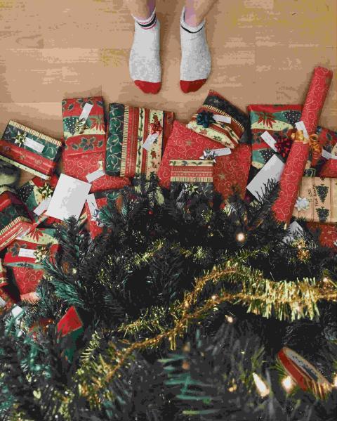 regalos paquetes navidad