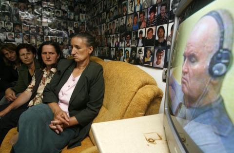 Retransmisión en directo del juicio contra Ratko Mladic