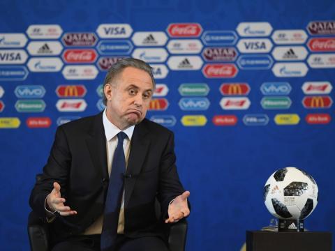 El expresidente de la Unión de Fútbol de Rusia (UFR), Vitali Mutkó