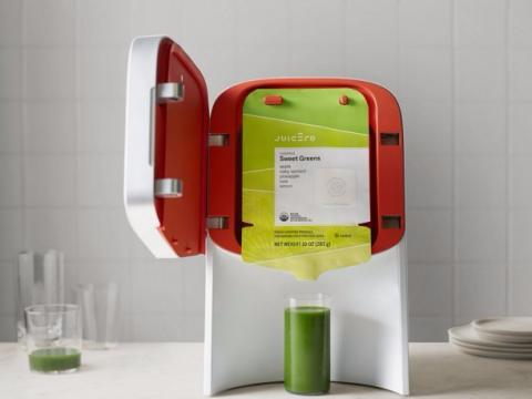 La máquina de zumos de Juicero