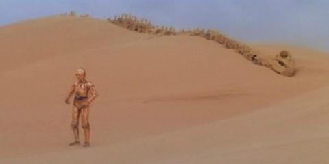 La Gran Dune, localización de Star Wars