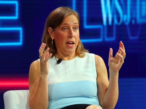 Susan Wojcicki, CEO de YouTube.
