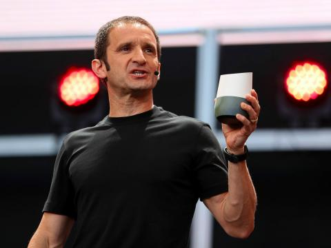 Momento de la presentación de uno de los asistentes virtuales de Google