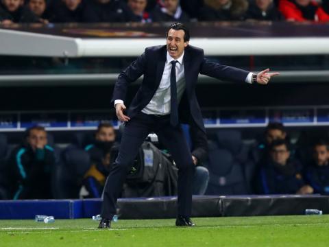 Unai Emery, entrenador de fútbol del PSG