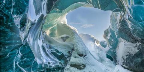 Parque nacional de Vatnajokull en Islandia