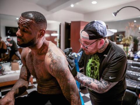 Vida de LeBron james tatoos