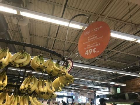 Fotografía de uno de los supermercados de Whole Foods, propiedad de Amazon.