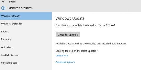 Actualización Windows