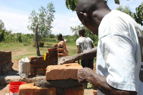 Una aldea en Kenia se beneficia de la renta universal