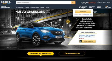 Amazon venta Grandland X