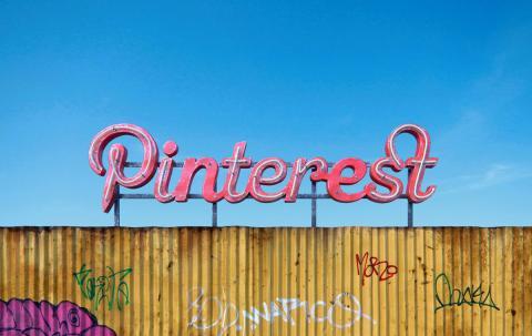 Logo de Pinterest según el artista <strong><a href=