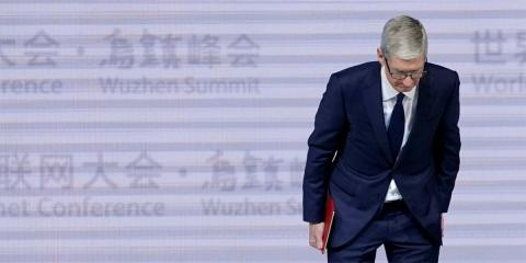 Apple Tim Cook Wuzhen
