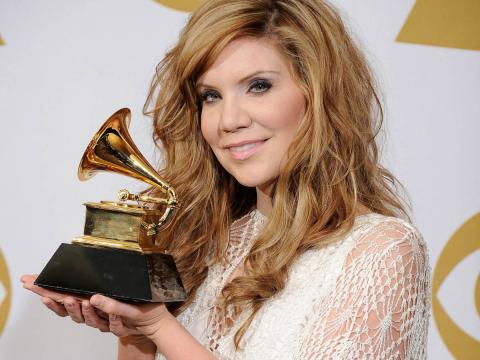 Alison Krauss en los Premios Grammy