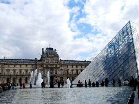 El museo del Louvre, en París (Francia)