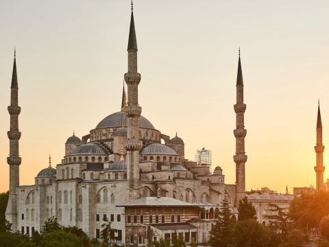 La mezquita Azul de Estambuel