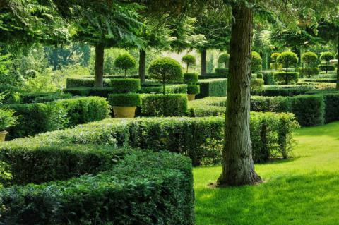 Jardines Manoir d'Eyrignac en Dordogne (Francia)