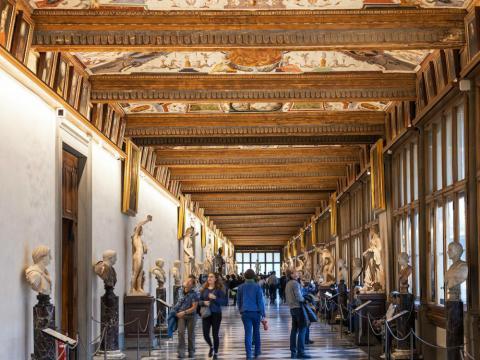 Galería de los oficios, Florencia (Italia)