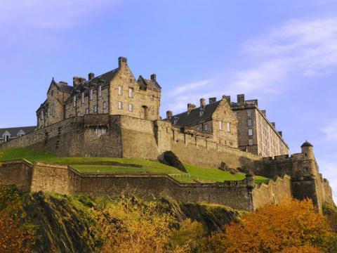 Castillo de Edimburgo (Escocia)