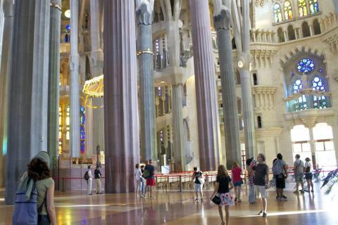 Sagrada Familia, Barcelona (España)