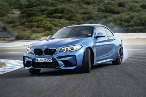 Un BMW no eléctrico