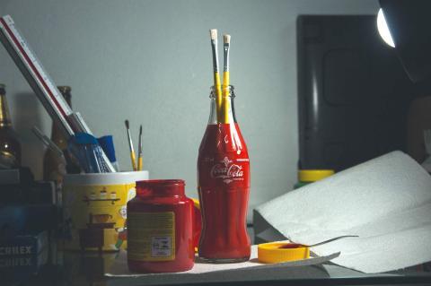 La botella Contour de Coca-Cola.