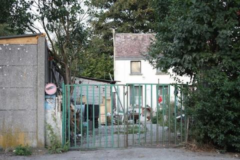 La casa del asesino en serie y pederasta belga Marc Dutroux, en Marchienne-au-Pont.