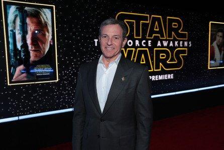 El director ejecutivo de Disney, Bob Iger