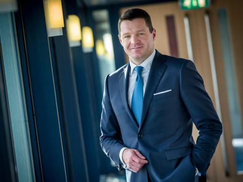 El CEO de KLM, Peter Elbers.