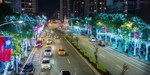 Una imagen de Taipei, Taiwán