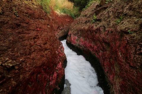 Los vertidos de aguas residuales llegan sin control al río Ganges, en la India