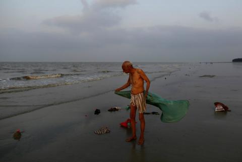Contaminación en el Ganges, el río sagrado de India